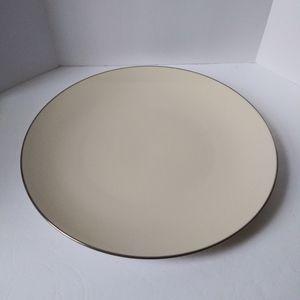 "Lenox 13"" serving plate"